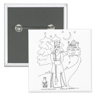 Princess With Lantern Pins