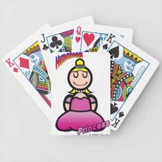 Princess (with logos) bicycle playing cards