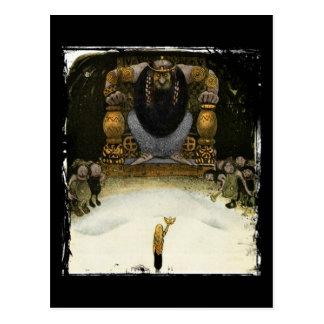 Princess with the Troll King Postcard