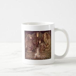 Princess with Trolls Coffee Mug