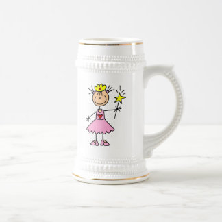 Princess With Wand 18 Oz Beer Stein