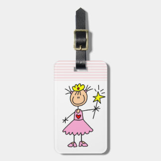 Princess With Wand Bag Tag