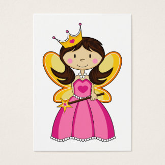 Princess with Wand Bookmark Business Card