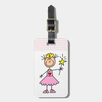 Princess With Wand Bag Tags