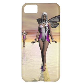 Princess with wings on water iPhone 5 case