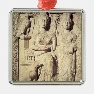 Princess Zenobia  and a female companion Metal Ornament