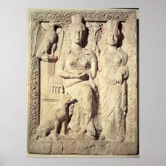 Princess Zenobia  and a female companion Poster