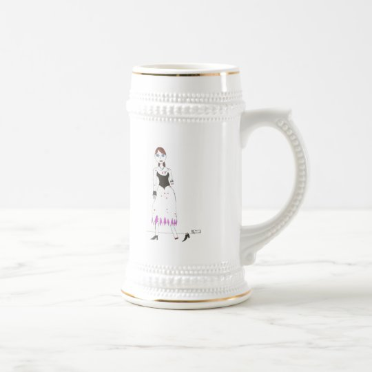 Princess Zombie the 3rd Beer Stein