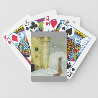 Princessa by Snowy Castle Bicycle Playing Cards