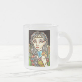 Princesse Grenouille Frosted Glass Coffee Mug
