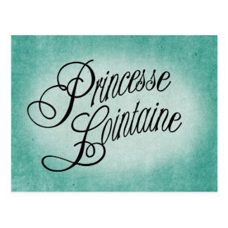 Princesse Lointaine Postcard