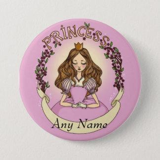 Princesse Pinback Button