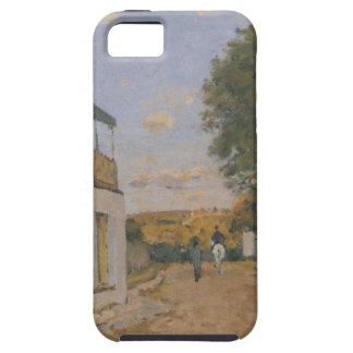 Princesse Street in Louveciennes by Alfred Sisley iPhone SE/5/5s Case