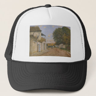 Princesse Street in Louveciennes by Alfred Sisley Trucker Hat