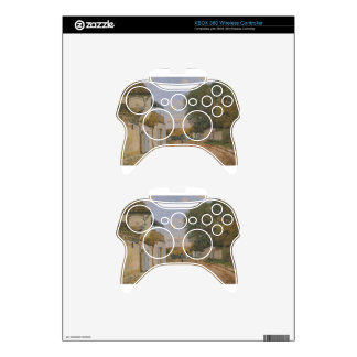 Princesse Street in Louveciennes by Alfred Sisley Xbox 360 Controller Decal