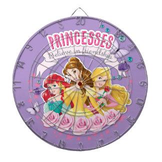 Princesses Believe in Friendship 1 Dartboards