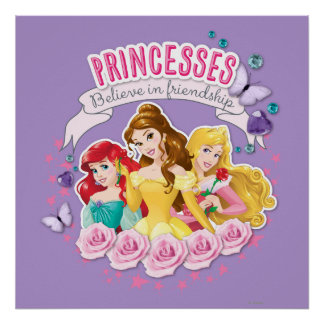 Princesses Believe in Friendship 1 Poster
