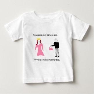 Princesses don't carry purses. t-shirt