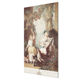 Princesses Mary , Sophia  and Amelia Canvas Print