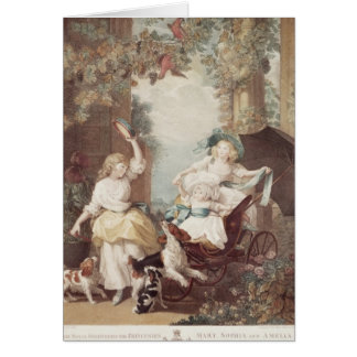 Princesses Mary , Sophia  and Amelia Card