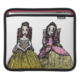 Princesses Rule Rickshaw iPad Sleeve