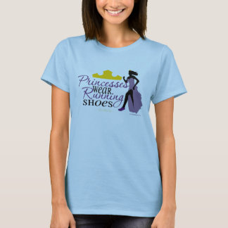 Princesses Wear Running Shoes T-Shirt