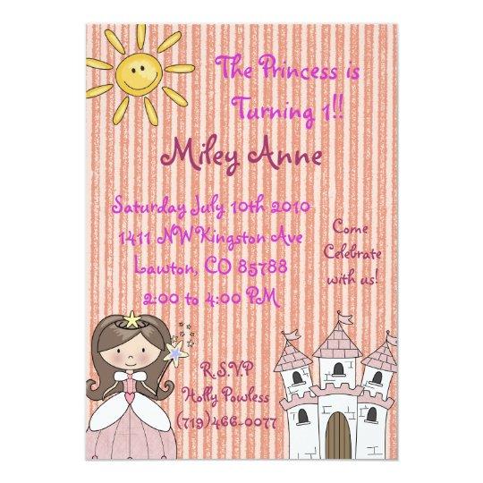 princessmiley copy, The Princess is Turning 1!!... Card