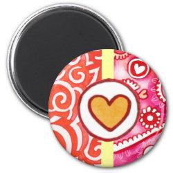 Princess's Heart magnet