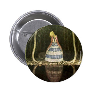 Princess's Reflection in the Pool Button