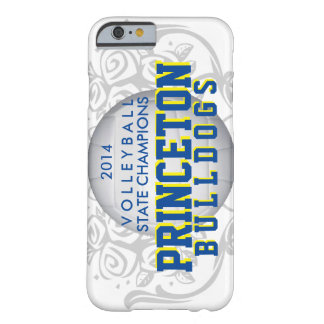 Princeton Bulldogs Volleyball iphone6 case Barely There iPhone 6 Case