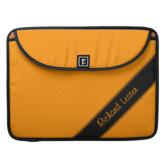 Princeton Orange Personal MacBook Pro Sleeve