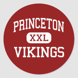 Princeton - Vikings - Community - Cincinnati Ohio Classic Round Sticker