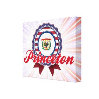 Princeton, WV Lienzo Envuelto Para Galerías