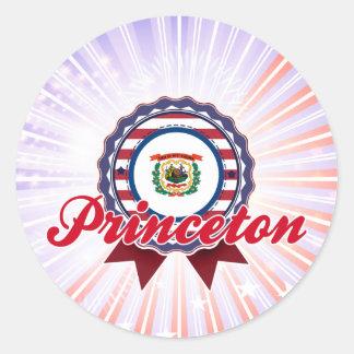 Princeton, WV Pegatinas Redondas