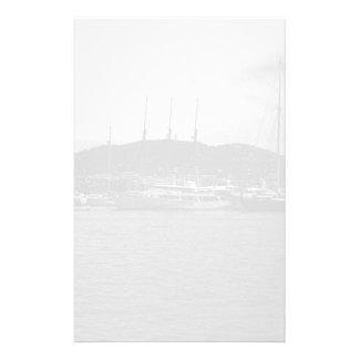 Principado de Mónaco del vintage el puerto 1970 Papelería De Diseño