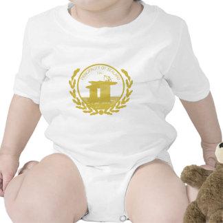 principado del escudo del sello del sealand traje de bebé