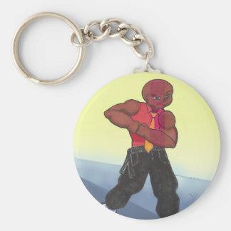 Principal Barrett Anime Art Gallery Character Basic Round Button Keychain