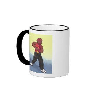 Principal Barrett Anime Art Gallery Character Ringer Mug