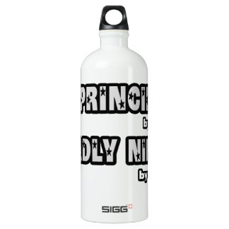 Principal By Day...Deadly Ninja By Night Water Bottle
