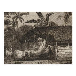 Principal camiseta, Otaheite, Tahití Postal