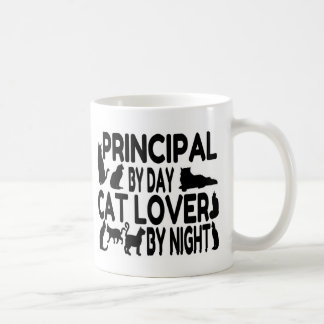 Principal Cat Lover Coffee Mug