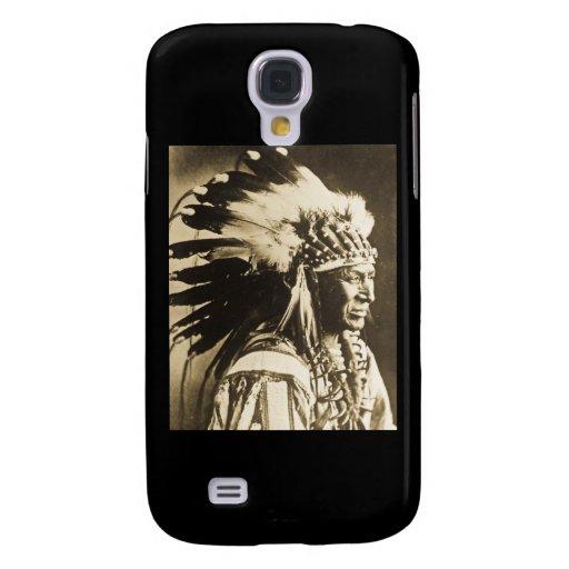 Principal cisne blanco de Lakota Siux Funda Para Galaxy S4