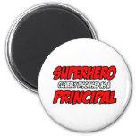Principal del super héroe… imán de frigorífico