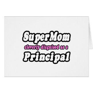 Principal del SuperMom… Tarjeta De Felicitación