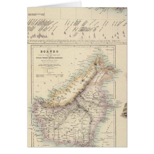 Principal Dutch Colonies in the Indian Seas Card
