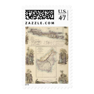 Principal Dutch Colonies in the Indian Seas Postage