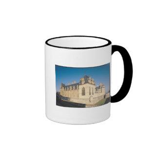 Principal facade and the south facade coffee mug