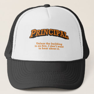 Principal / Fire Trucker Hat