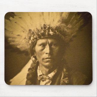 Principal Garfield vintage del indio de Apache Tapetes De Raton