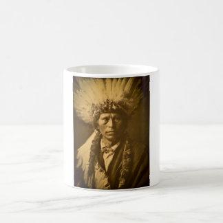 Principal Garfield vintage del indio de Apache Taza Clásica